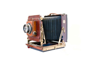 Thornton Pickard Royal Ruby camera used for all sittings